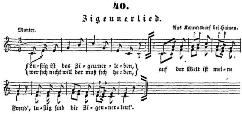 Melodie zu