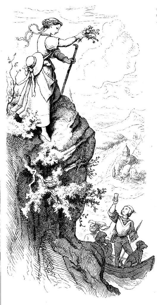 Illustration Ich Stand Auf Hohem Berge Jungbrunnen