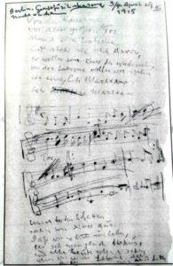Lilimarleen Original Noten