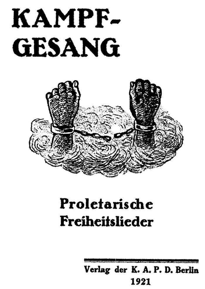 Kampfgesang 1921