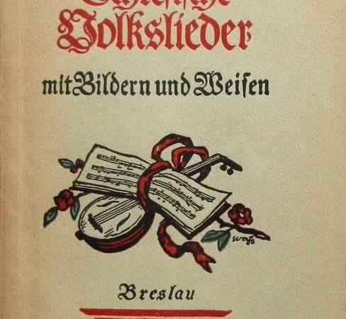 Schlesische Volkslieder 1924