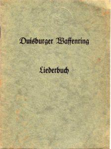 Liederbuch Duisburger Waffenring