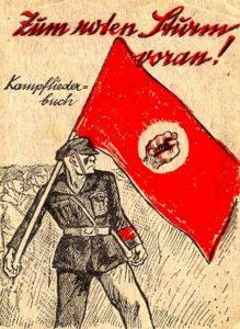 Zum Roten Sturm voran - Kampfliederbuch
