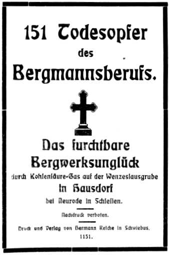 Grubenunglueck Hausdorf