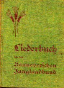 Liederbuch Hannoverscher Junglandbund
