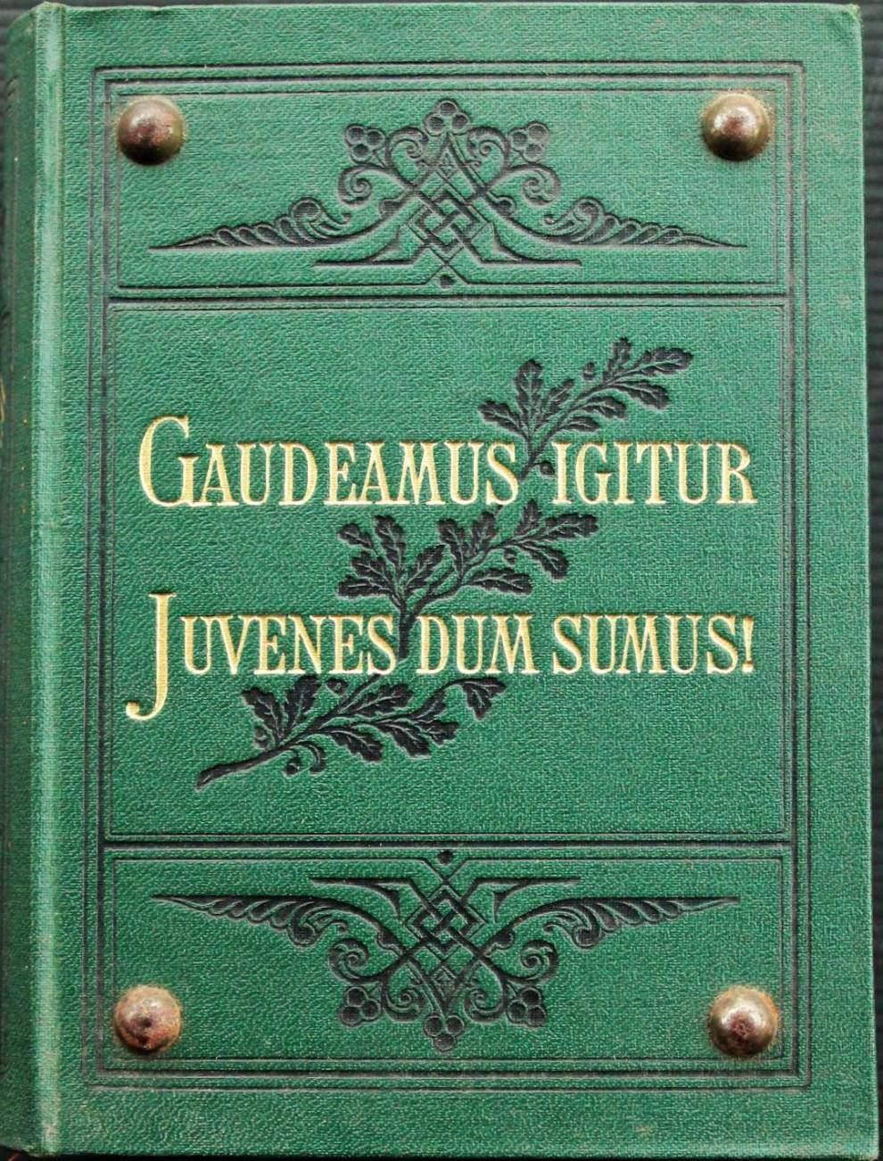 Kommersbuch - seit 1858
