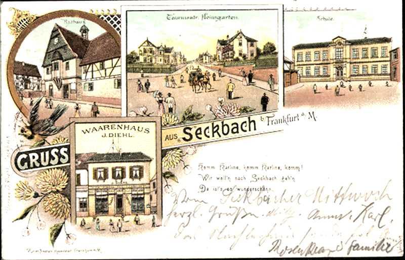 Karline Seckbach 1897