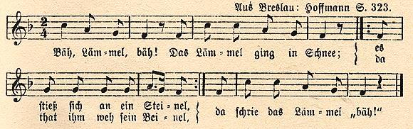 Schlaflied aus Schlesien
