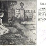 Die Rasenbank am Elterngrab (1903)