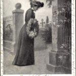 Rasenbank am Elterngrab (1904)
