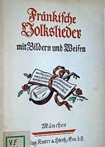 Fränkische Volkslieder (1933)
