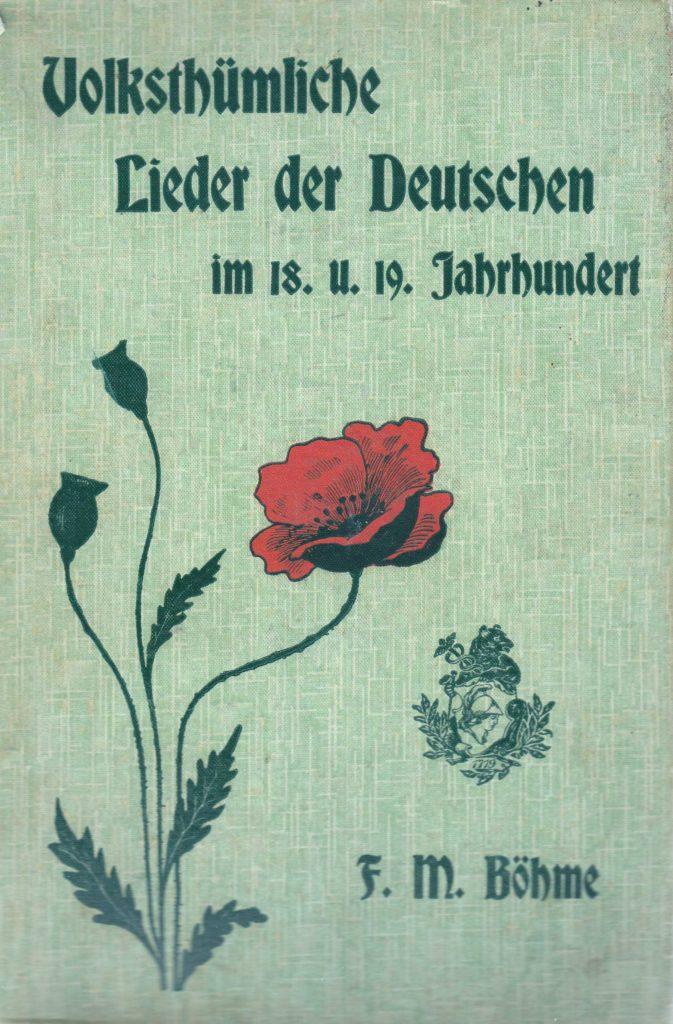 Volkstümliche Lieder der Deutschen